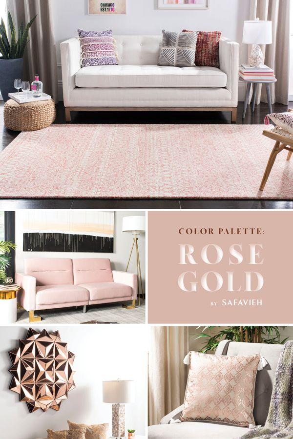 The Safavieh Rose Gold Palette Decor Apartment Decor Decor Design
