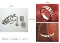 14K Ring & Pendant with melee diamonds, 리폼비용 about $300