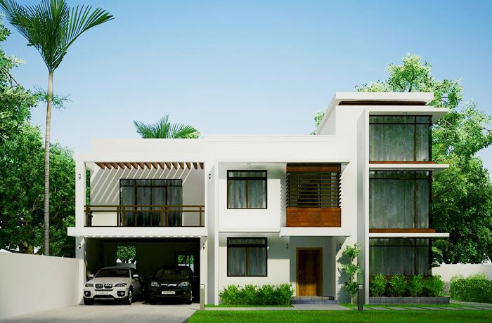 Mhd 2012002 pinoy eplans modern house designs small for Apartment villa design