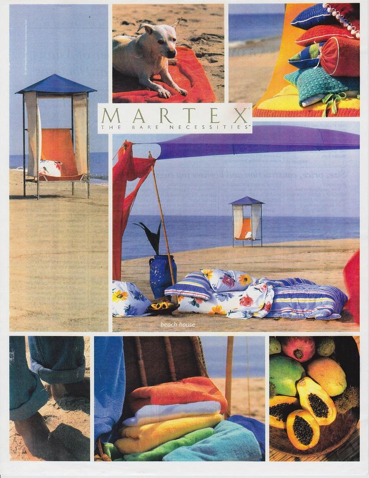 Martex Ad for Beach House Design