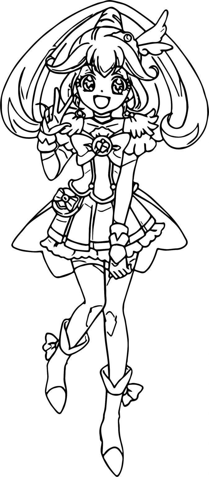 Glitter Force Coloring Pages Best Coloring Pages For Kids Coloring Pages Glitter Force Candy Glitter Force