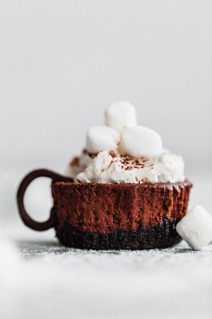 ❤️ Hot Cocoa Cheesecake Minis