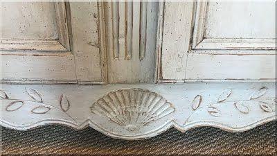 provence stílusú antik bútor