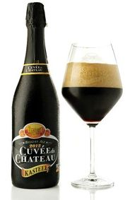 KASTEEL CUVÉE DU CHATEAU Which is Kasteel Donker aged for 10 years ( 11% ABV ) Pajottenland - Flemish Brabant Belgie