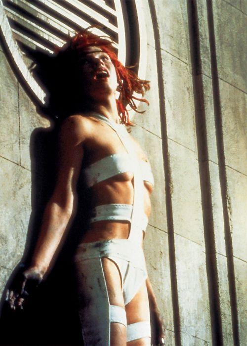 """Y resultó que Milla Jovovich era """"El quinto elemento""""."""
