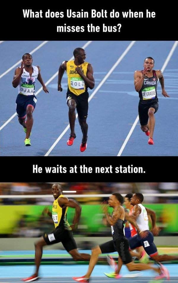 When USAIN BOLT Misses the Bus! - Hilarious MEMES - http://picsdownloadz.com/funny-pictures/when-usain-bolt-misses-the-bus-hilarious-memes/