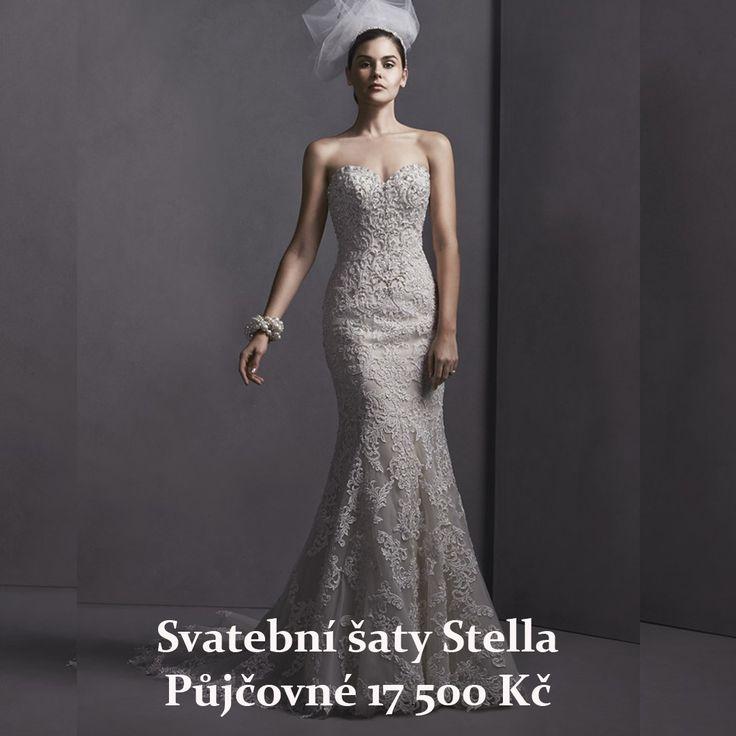 Svatební šaty Stella, salon Maggie www.1-svatebni-saty.cz #svatebnisaty #svatba #svatby #svatebnisalon #svatebnistudio #saty #MaggieSottero #nevesta #satypronevestu#moda#svatebnimoda