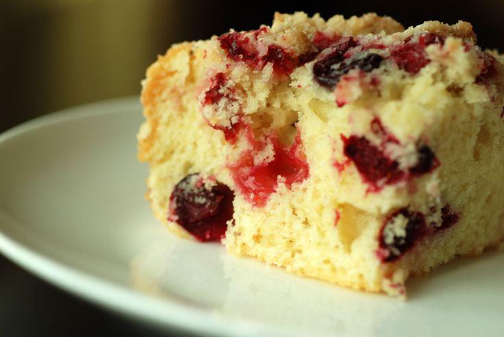 Cranberry Buckle With Vanilla Crumb | It's Winter | Pinterest