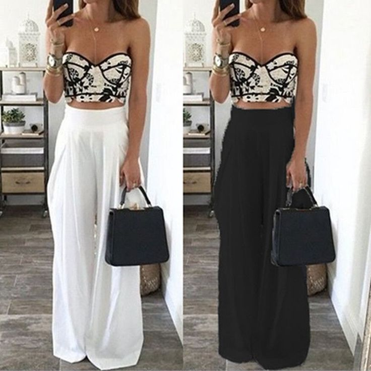 Find More Pants & Capris Information about Hot Sale Fashion Womens High Waist Side Zipper Chiffon Long Wide Leg Pants Summer Casual Beach Party  Harem Loose Trousers,High Quality trousers outdoor,China sale t mobile phones Suppliers, Cheap trousers men from Look! Sunshine Store on Aliexpress.com