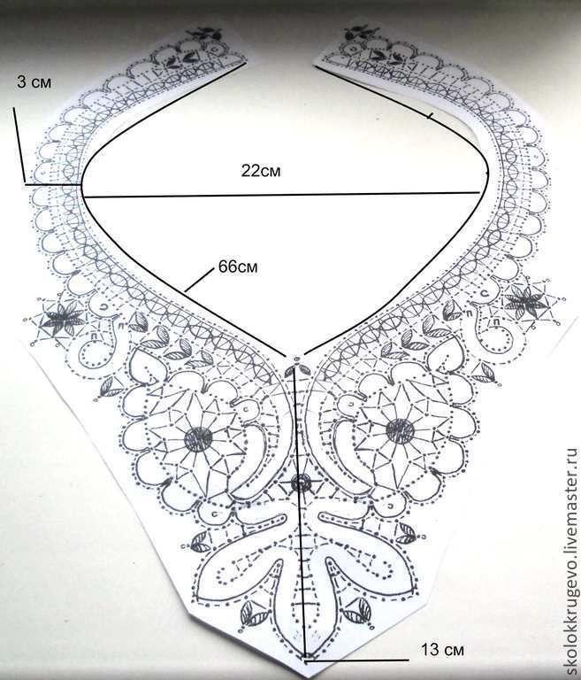 Bobbin Lace, Necklace/Collar