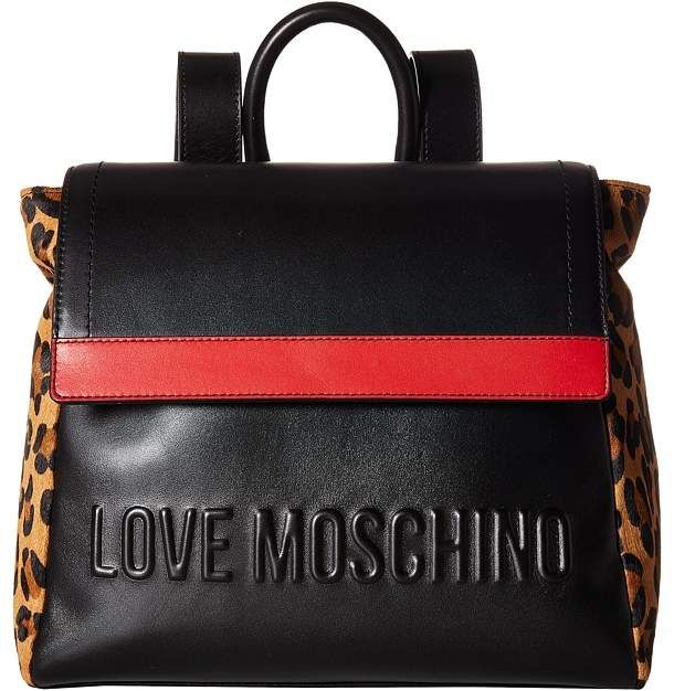 395 Love Moschino Animal Block Backpack Backpack Bags Made Of Vegan Leather Backpacks Style Bags Affiliate Shopstyle Mystyle Womensfashion Tui Xach Tui