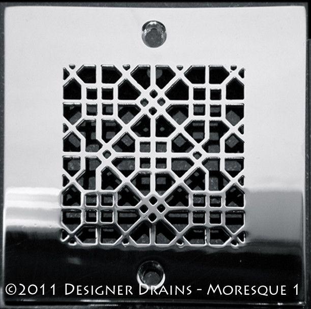 Designer Drains Architecture Moresque™ No.1 SQ