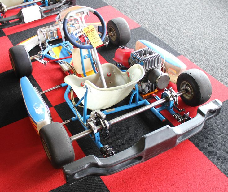 Used 2014 FA Cadet Chassis with Jr Sportsman Yamaha Engine :: Used Karts, New Closeout Karts ::...
