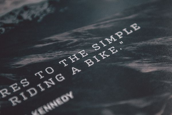 Isadore Apparel - Poster Nothing compares to simple pleasure of a bike ride #roadisthewayoflife #cyclingmemories