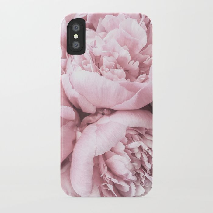 Valentine's Gift - iPhone Case - Pink Peony Flowers