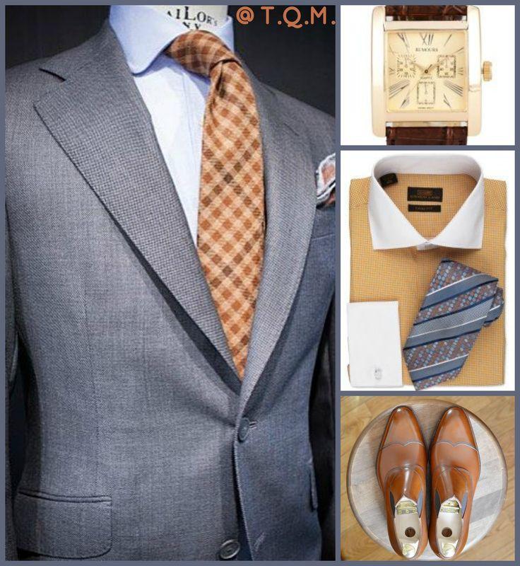 BUSINESS STYLE: Lauder Urquijo(Suit)-Rumours(Watch)-Steven Land(Shirt/Tie Option)-Hiro Yanagimachi(Shoes)