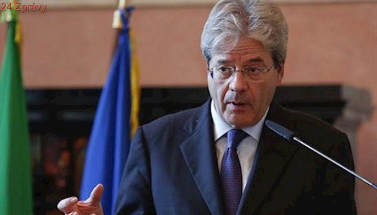 Do Česka přijede italský premiér, i přes spory o migranty. Bude se jednat o Libyi