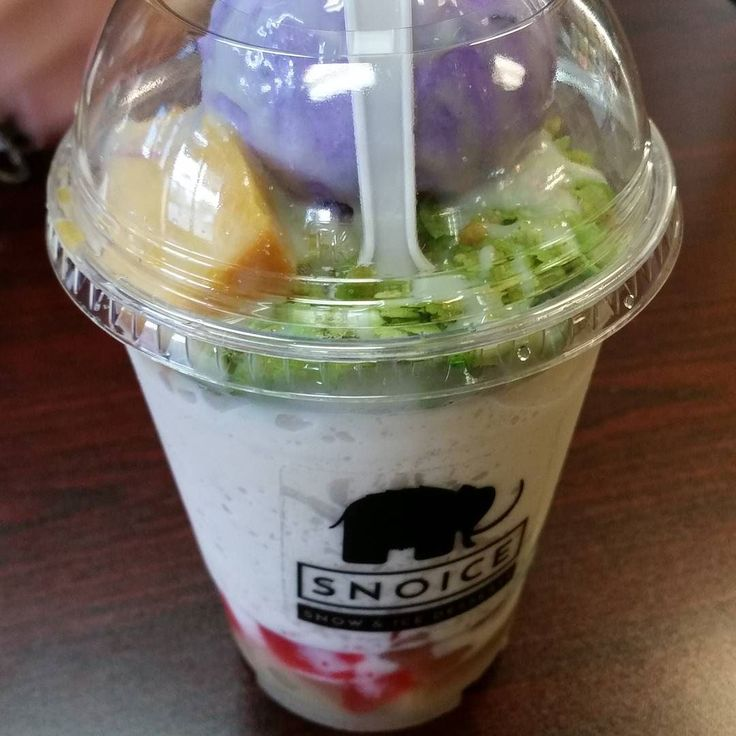"""drlewisbeanie on November 02 2015 at 03:53PM: """"Derailed from going to the vietnamese grocery store #snoice #dessert #diabetes #halohalo"""" http://ift.tt/1VxWQz4 www.snoicesd.com"""
