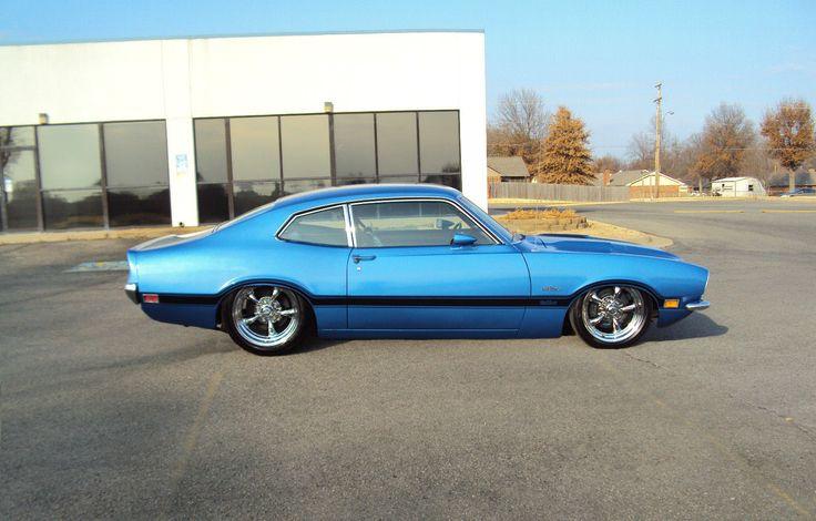 1972 Ford Maverick Grabber, beautiful sky blue!