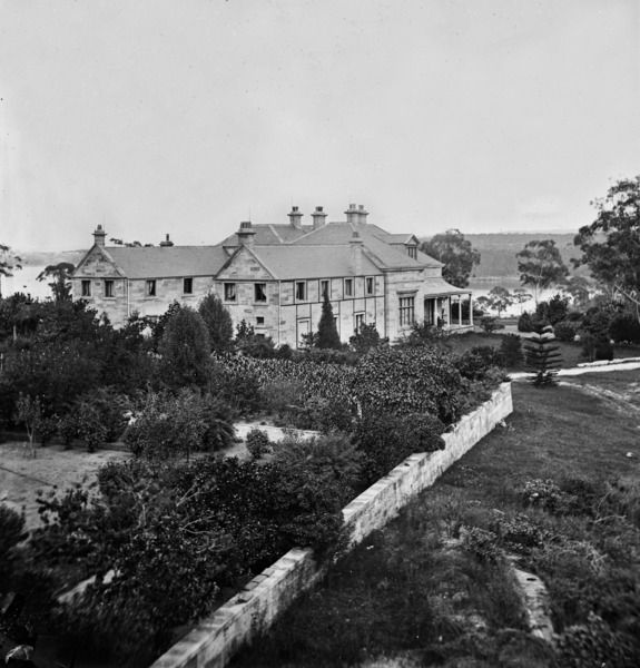 Drummoyne House, Sydney taken by the first Dean, Professor John Smith - Faculty of Medicine Uni of Sydney