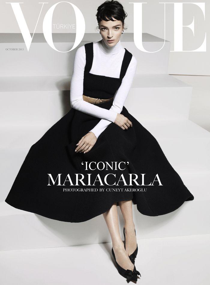 Vogue Turkey October 2013 | Mariacarla Boscono | Cuneyt Akeroglu                                                                                                                                                                                 More
