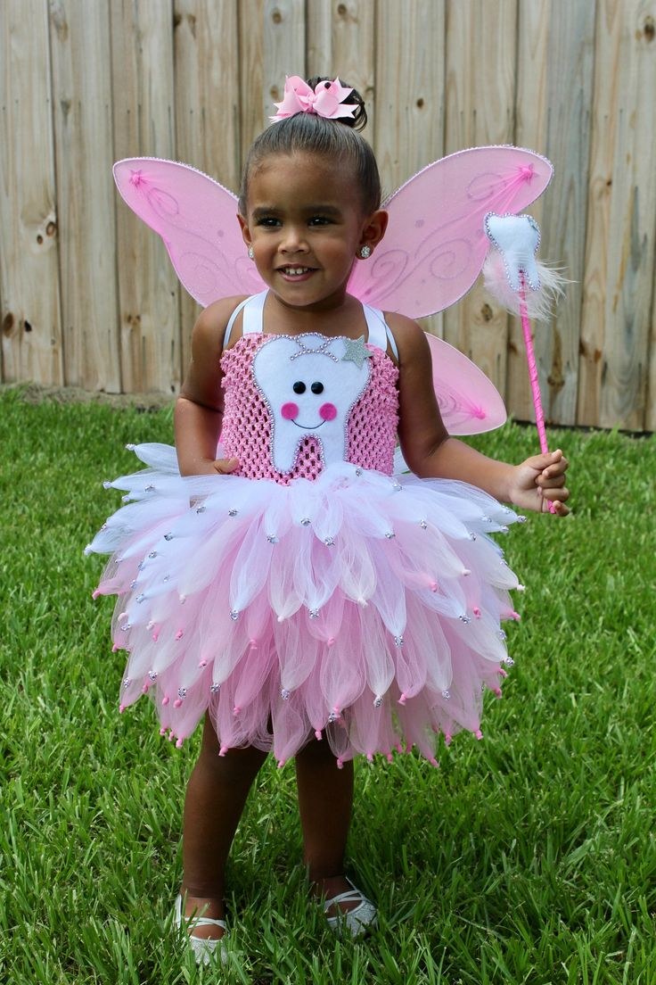 Girls Tooth Fairy Costume