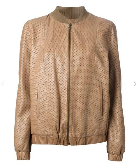 FORTE FORTE - MY LEATHER JACKET BROWN - Shineshop.no - Luxury Designer Fashion Online