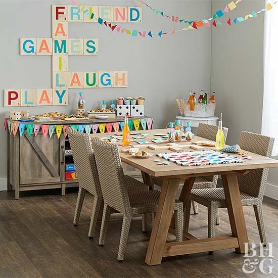 Hosting an exciting game night for family and friends is easy with our fun ideas, finger-food recipes, and free printables. We have everything you need to make it a night they won't forget!