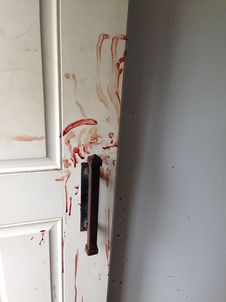 The Shirley Mundia murder scene as her mother, who was stabbed and bleeding, frantically ran to get help.