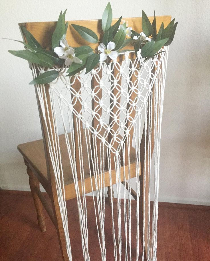 25+ unique Macrame chairs ideas on Pinterest | Textile ...