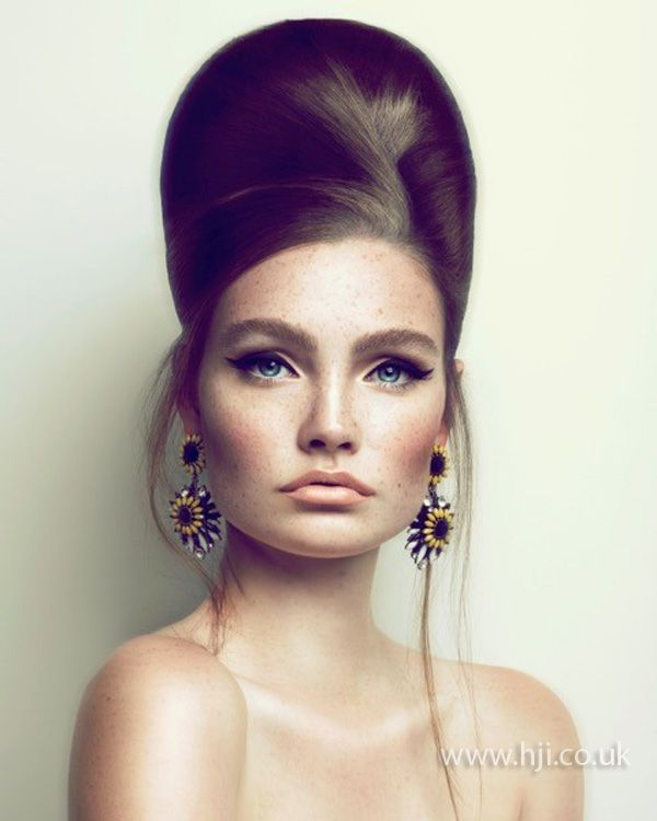 Beehive Hairstyles For Wedding: 2015 Luxe Modern Beehive - Hairstyle Gallery