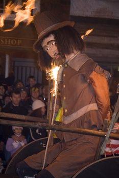 """Remember remember the 5th of November, gunpowder, treason and plot!"" Guy Fawkes Night (a.k.a. Bonfire Night)."