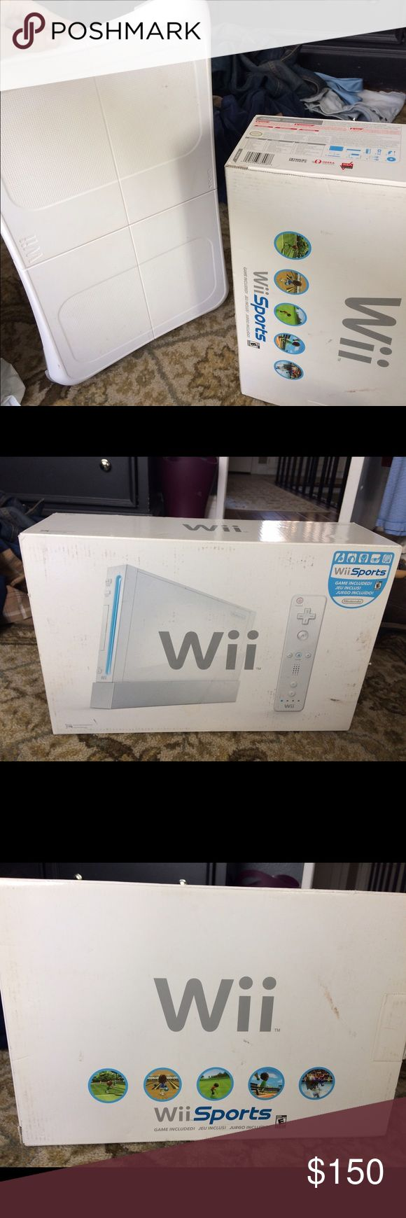 Wii Fit-- Never used! Never used wii fit... includes games as well as the wii fit board. Other