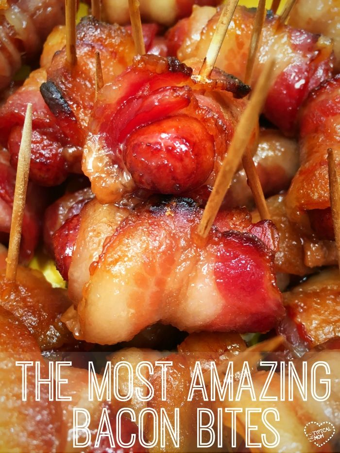 Great salty and sweet appetizers with bacon that are great for super bowl parties, get togethers or as a side dish. The best recipe for cocktail wieners.