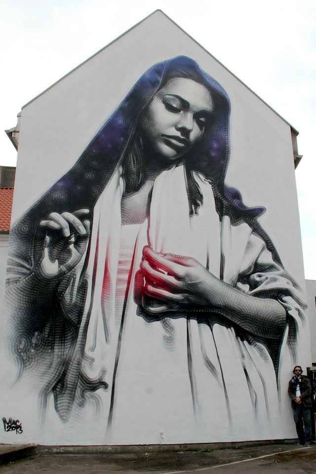 el mac denmark 01 Streetart: El Mac New Mural In Aalborg | STREET ...
