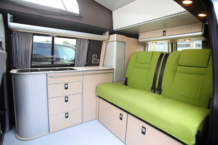 vw t5 campervan interior - Google Search