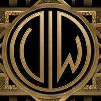 ff Loin omat nimikirjaimeni The Great Gatsby - Kultahattu -monogrammikoneella.