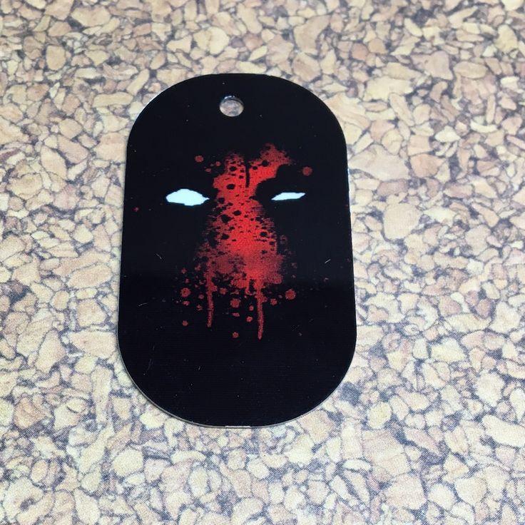 Deadpool Face Dog Tag