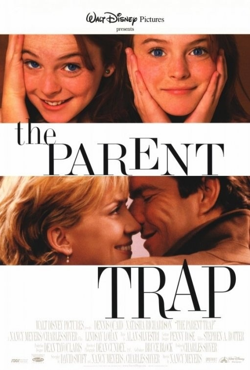 The Parent Trap. Judge me, whatever. If it's on tv, I kinda can't turn it off. :)