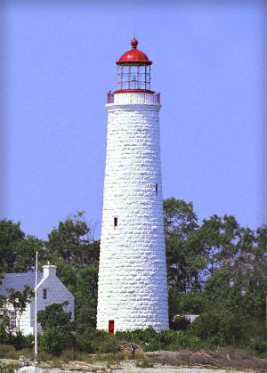 Chantry Island Lighthouse, Southampton, Ontario.