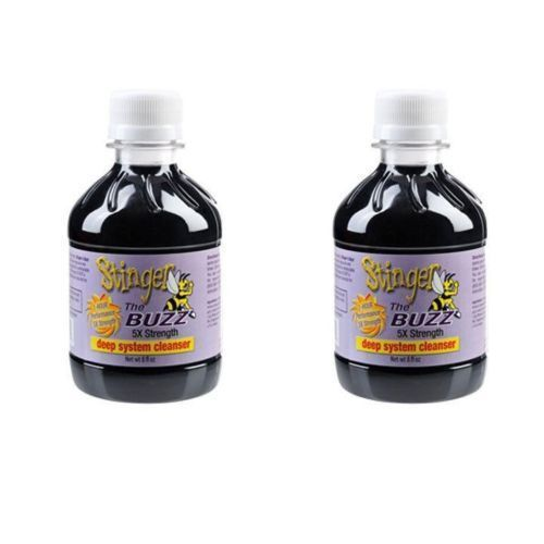 Detox and Cleansers: 2 Stinger The Buzz 5X Strength Detox Grape Cleanse 8 Oz - Exp 2018 BUY IT NOW ONLY: $35.0