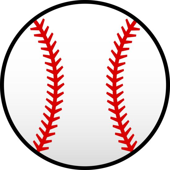 Little League Baseball Clip Art | Red Baseball Laces Clip Art Vector Clip Art Online Royalty Free Design