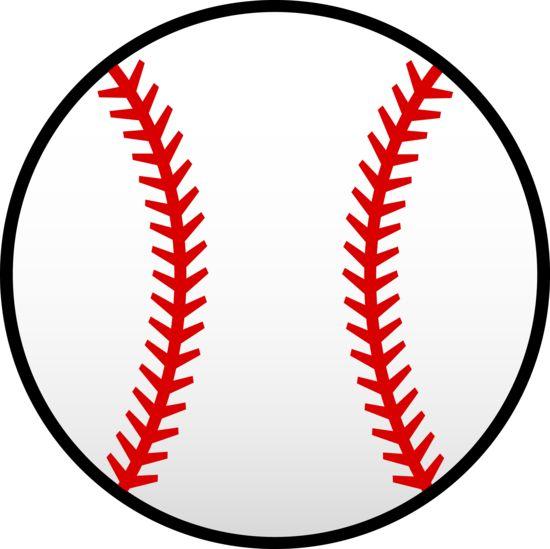 little league baseball clip art red baseball laces clip art vector