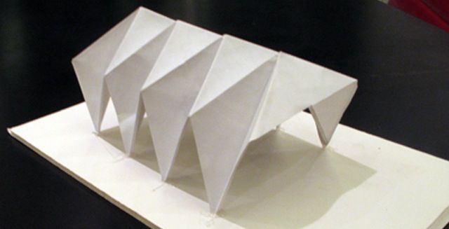 Pin By Ahmed Ezz On Pavilion Design Folding Architecture
