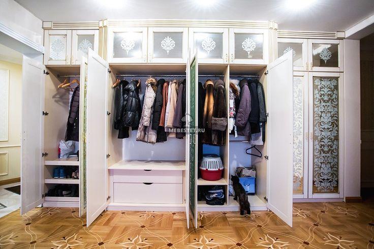 Четырёхсекционный зеркальный шкаф / Мебель на заказ / Меб Эстет