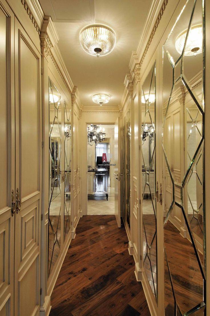 Роскошно декорированная квартира в классике