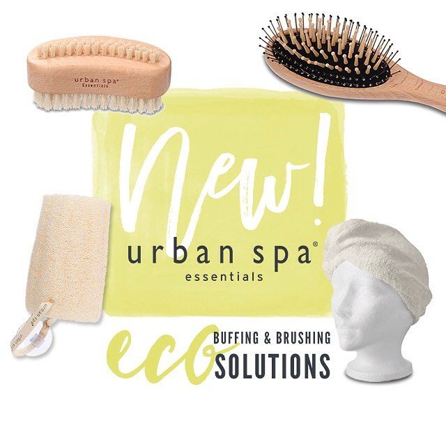 NEW- URBAN SPA Eco buffing & brushing solutions #mypure #beauty #organicbeauty #natural #naturalbeauty #organic #vegan #cleanbeauty #cleanliving #crueltyfree #chemicalfree #green #makeup #skin #skincare #face #body #lips #buffer #brush #hairbrush #hair #towel #naturalhair #naturalhairbrush #new #urbanspaessentials #urbanspa by mypurenaturalbeauty