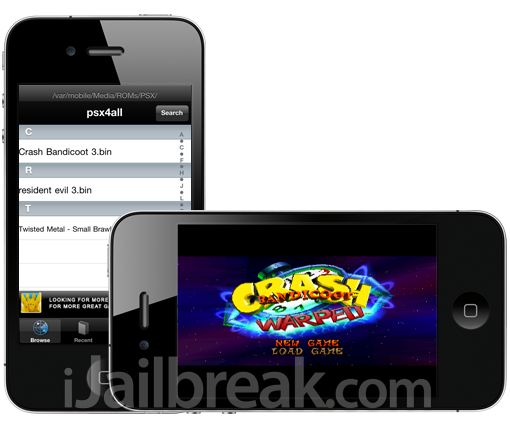 There's all sorts of emulators available in Cydia for iPhone, iPod Touch and iPad such as psx4iPhone, n64iphone, gpSPhone. Learn how to download and install Emulators for free!