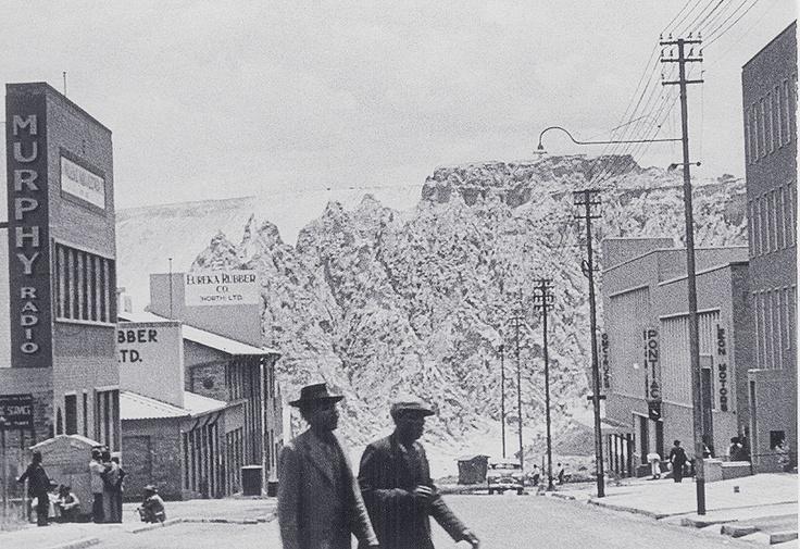 1952 Mine dump near Jeppestown, Johannesburg, Transvaal