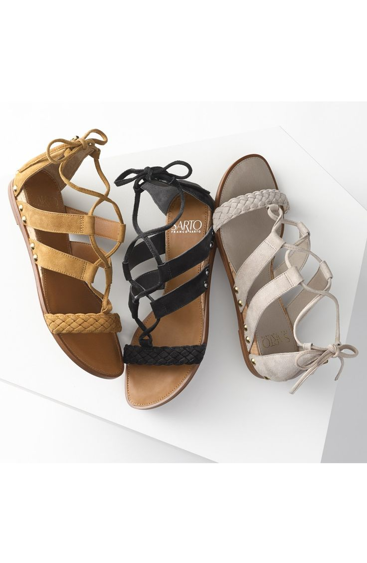 SARTO by Franco Sarto 'Pierson' Lace Up Sandal (Women) Shoes